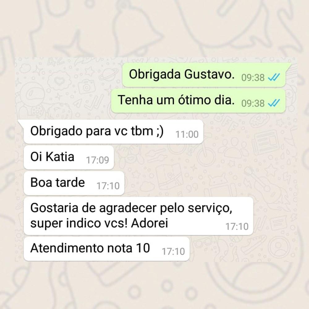 Depoimento de cliente Lavagem e Higienização de sofa em São Paulo
