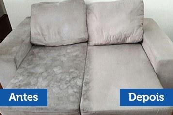 Lavagem e higienização de sofás e estofados SP